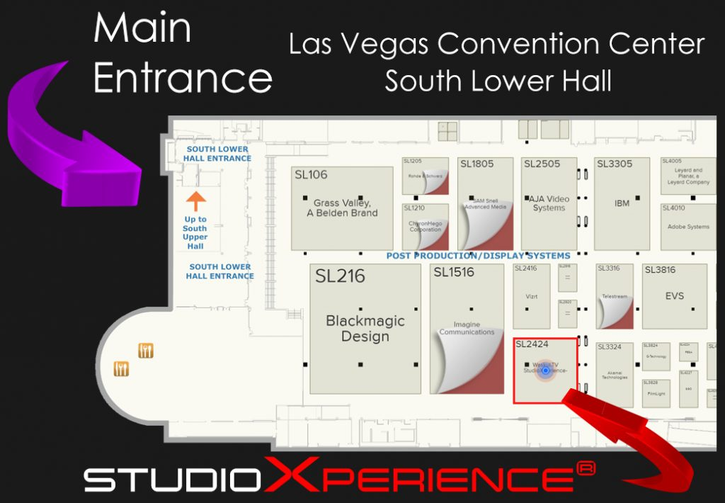 StudioXperience Location at the 2017 NAB Show
